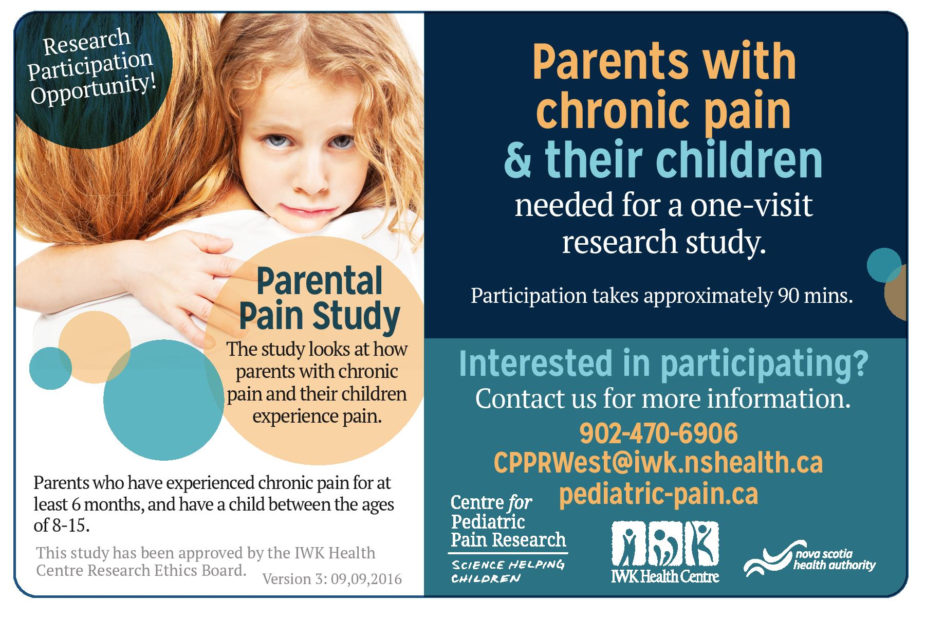 Parents with chronic pain